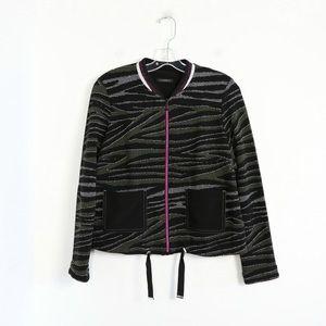 J J Garella boutique French Designer jacket zebra